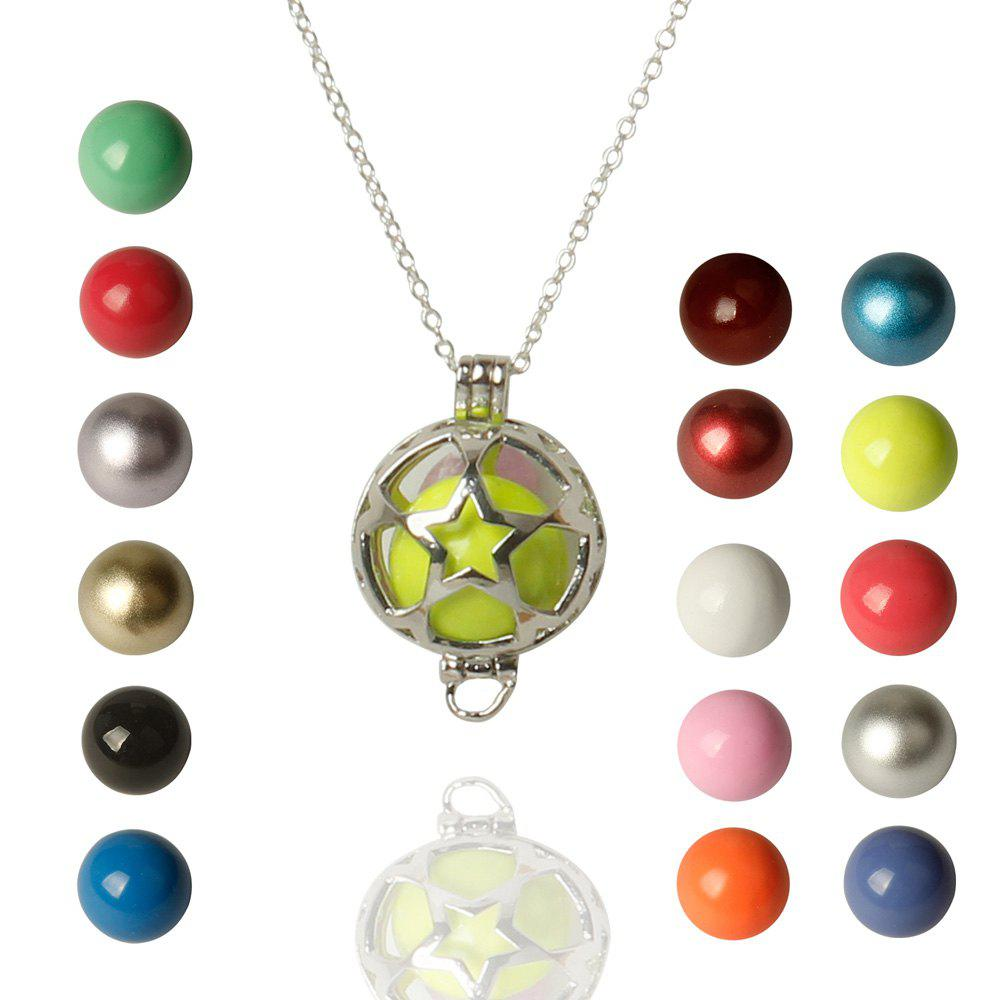 Pentagram Bead Necklace - COLORMIX