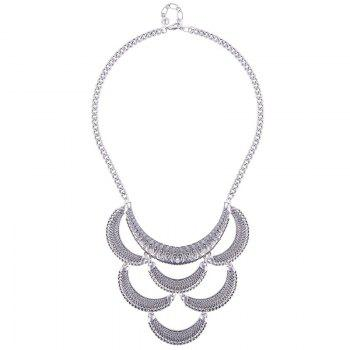 Moon Shape Necklace