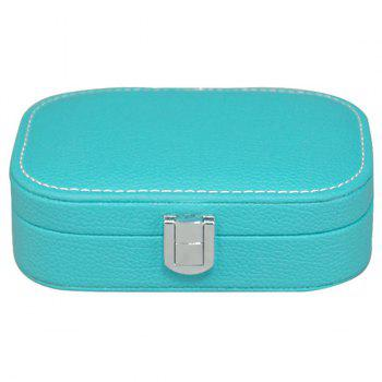 Trendy Candy Color and Hasp Design Women's Cosmetic Bag