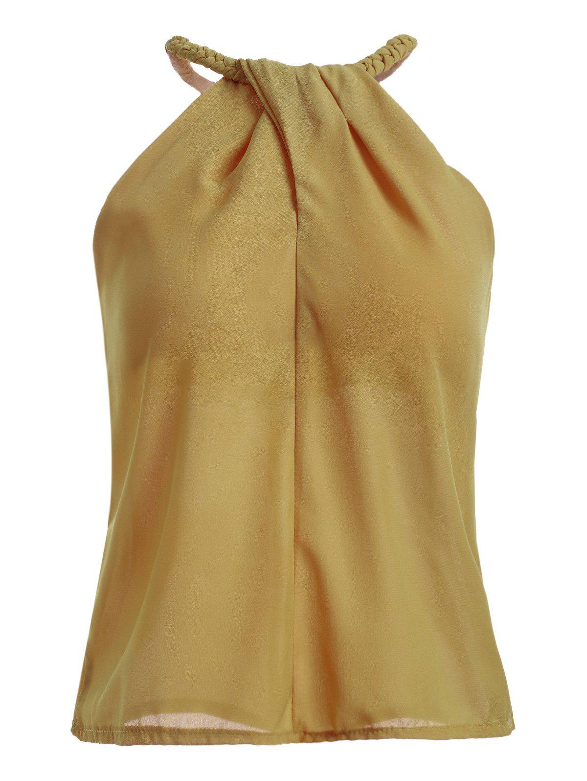 Stylish Solid Color Women's Tank Top - SOIL ONE SIZE(FIT SIZE XS TO M)