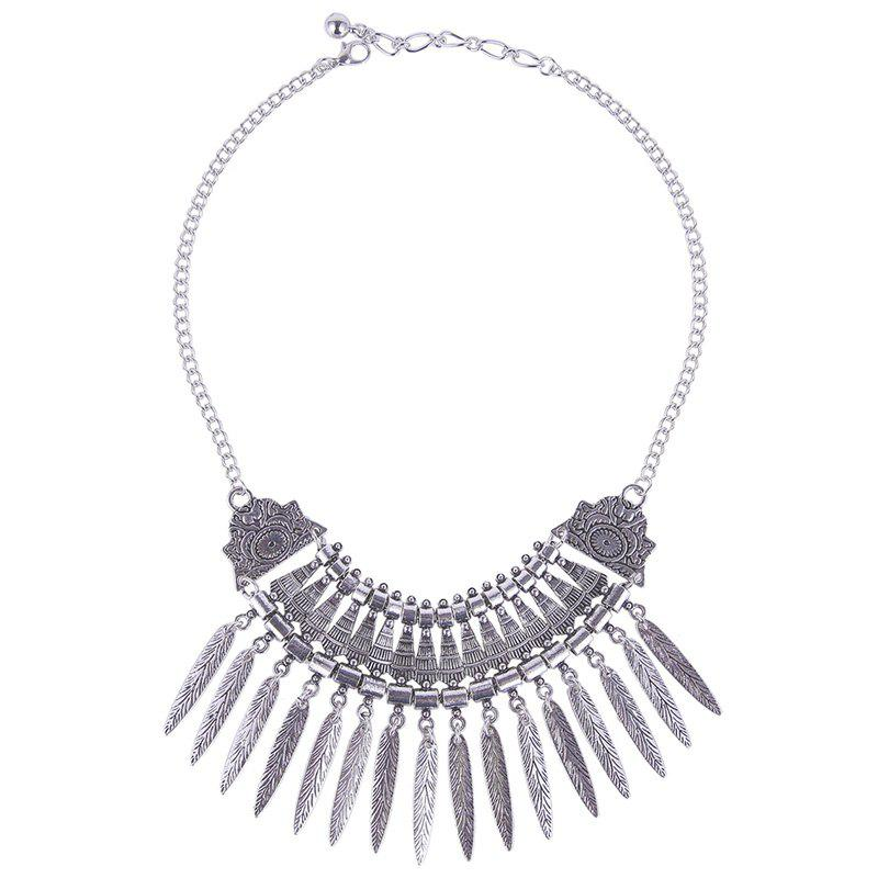 Chic Leaf Geometric Necklace For Women