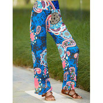 Ethnic Women's Paisley Wide Leg Exumas Pants