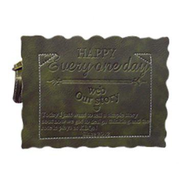 Stylish Solid Colour Letter Design Women's Crossbody Bag - ARMY GREEN