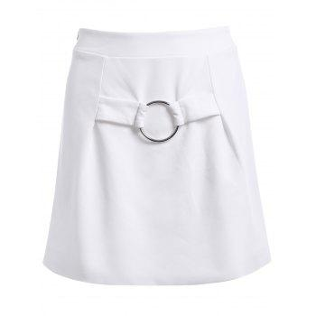 Fashionable High Waist Ornaments Skirt For Women