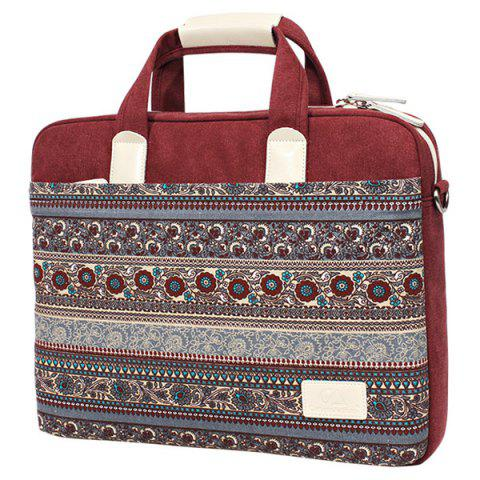 d95ae2c2e66f 17% OFF] 2019 Ethnic Style Print And Canvas Design Women's Laptop ...