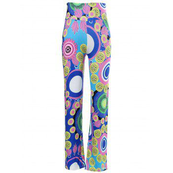 Casual Mid-Waisted Colorful Loose Exumas Pants For Women