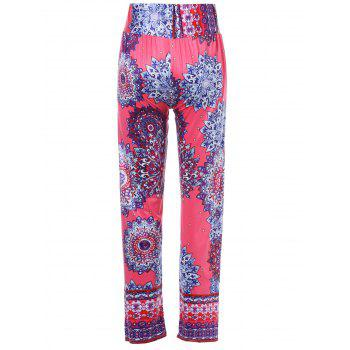 Stylish Mid-Waisted Wide Leg Printed Women's Exumas Pants