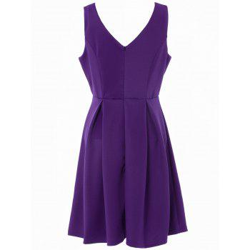 Sleeveless Semi Formal Dress - S S