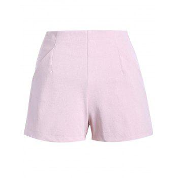 Simple Women's Solid Color Palazzo Shorts