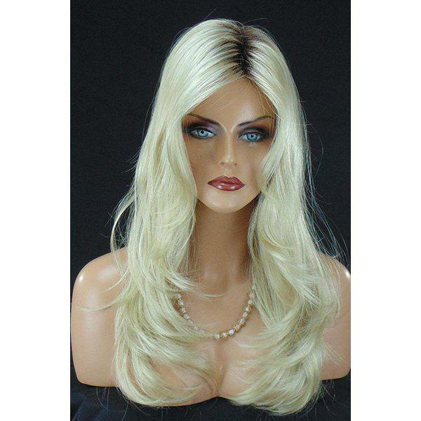 Women's Charming Synthetic Long Curly Wig - COLORMIX