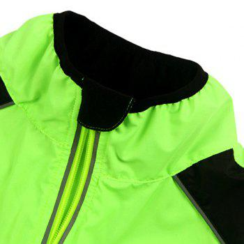 Durable Long Sleeve Breathable Windproof Cycling Jacket For Unisex - 2XL 2XL