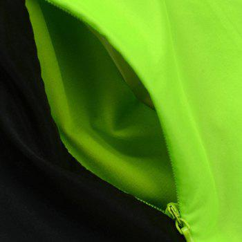 Durable Long Sleeve Breathable Windproof Cycling Jacket For Unisex - GREEN 2XL