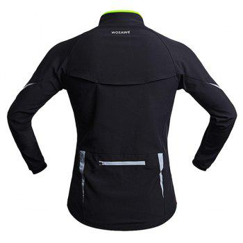 High Quality Long Sleeve Windproof Cycling Jacket For Unisex - XL XL