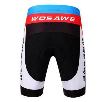 Fashionable Outdoor Windproof Short Sleeve Jersey + Shorts Cycling Suits For Men - XL XL