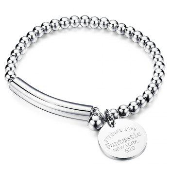 Alloy Engraved Love Bracelet