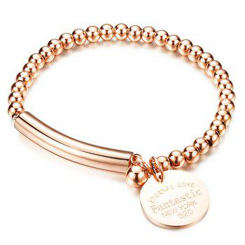 Engraved Love Bracelet Jewelry