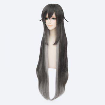 Synthetic Touken Ranbu Fluffy Straight Ombre Cosplay Wig - COLORMIX