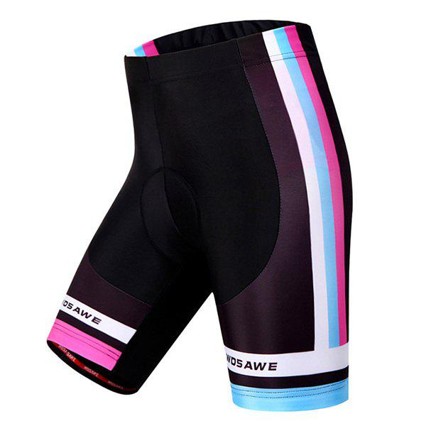 Chic Quality Outdoor Sports Breathable Biker Shorts For Women - COLORMIX XL