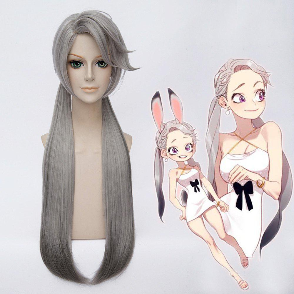 Women's Fashion Long Judy Cosplay Bunches Wig -  COLORMIX
