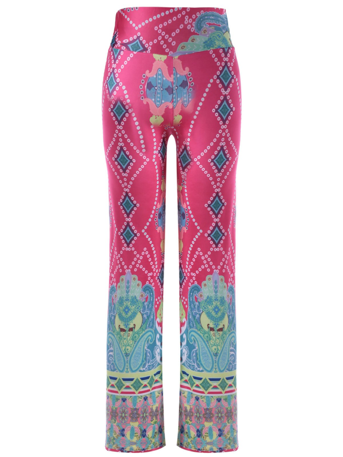 Causal Women's Elastic Waist Printing Pants - COLORMIX ONE SIZE(FIT SIZE XS TO M)