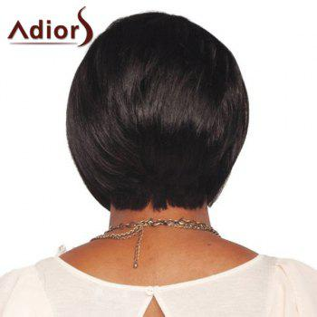 Stylish Adiors Side Bang Synthetic Short Wig For Women - COLORMIX