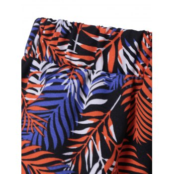 Fashionable Printed Shorts For Women - COLORMIX L
