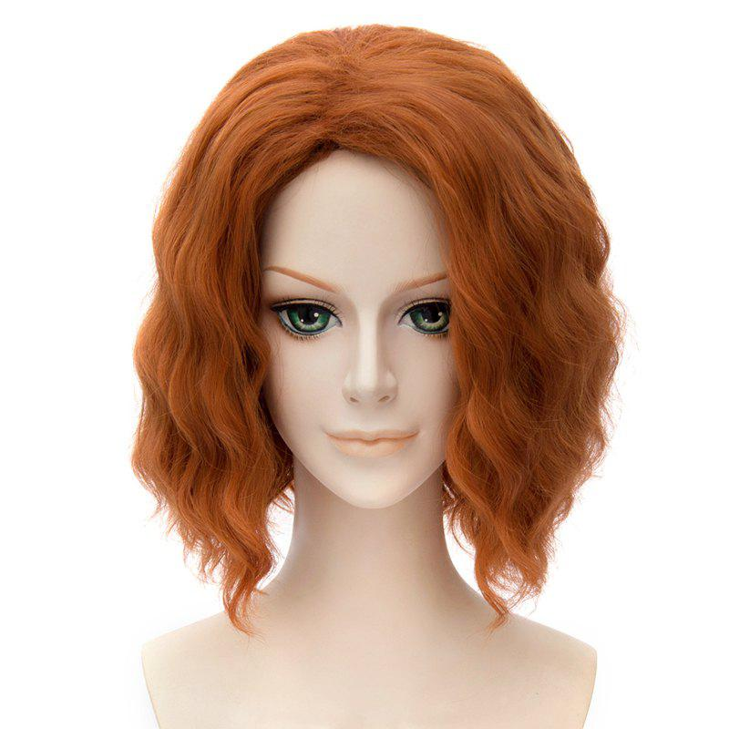 Fluffy Cosplay Synthetic Wavy Medium Wig