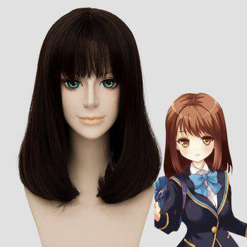 Men's Fluffy Full Bang Kanna Hashimoto Lolita Cosplay Wig