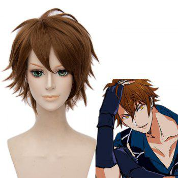 Fluffy Straight Synthetic Idolish7 Trigger Cosplay Short Straight Wig