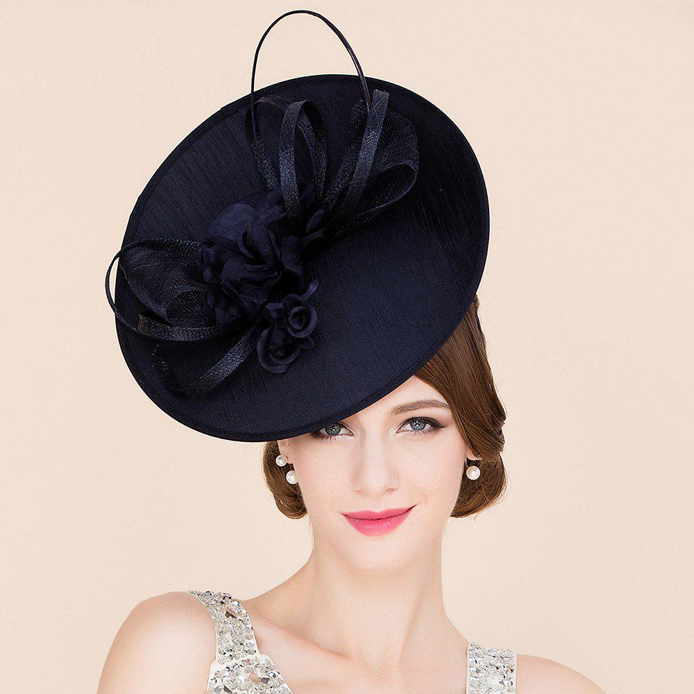Elegant Lady Silk Flower Bridal Fascinator Formal Wedding Tea Party Cocktails Hat