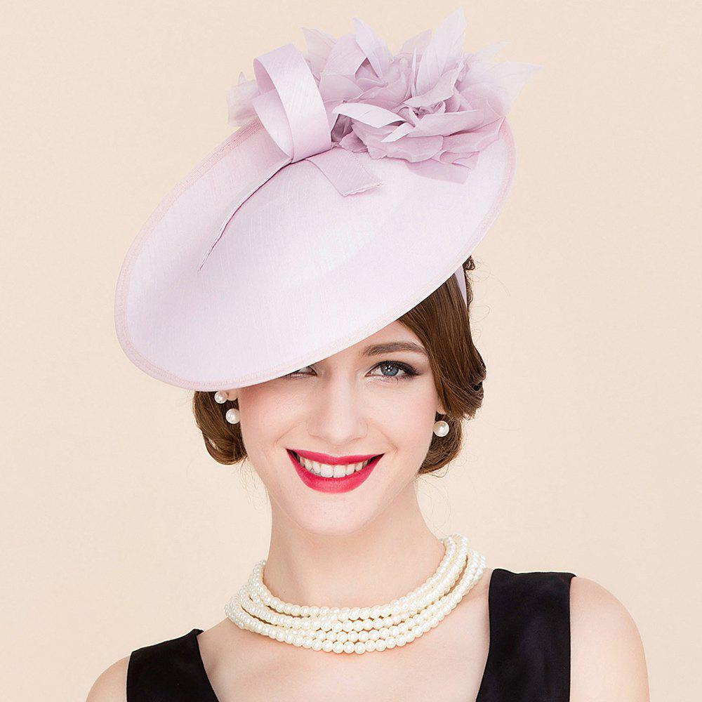 Elegant Lady Silk Flower Bridal Fascinator Headband Formal Wedding Tea Party Pink Cocktails Hat футболка brave soul brave soul br019emtnm29