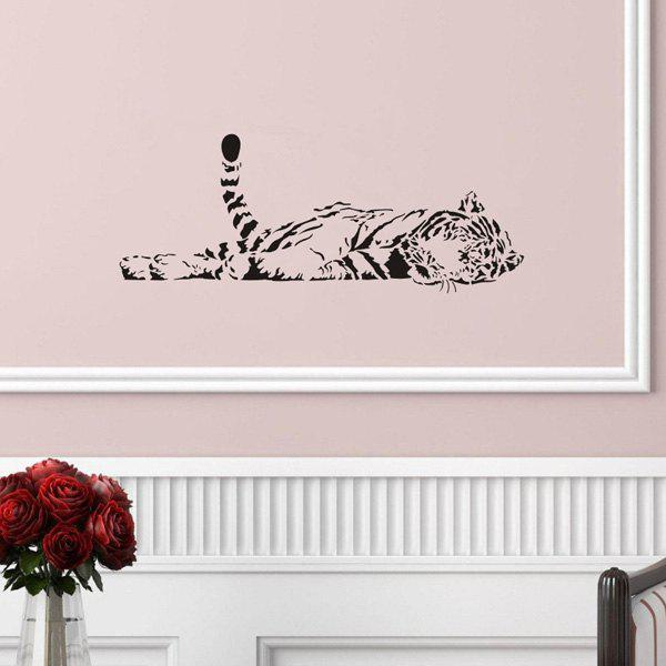 Exquisite Removable Bedroom Tiger Decoration Wall Art Sticker
