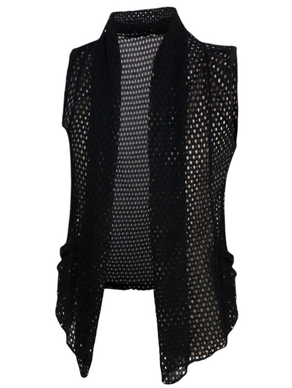 Men's Casual Mesh See-through Thin Waistcoat