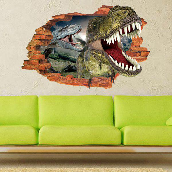 Active Removable 3D Dinosaurs Forest Wall Art Sticker спот novotech night light 357323
