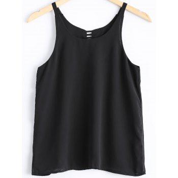 Fashionable Women's Chiffon Spaghetti Strap Tank Top