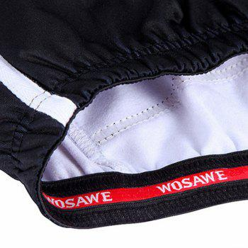 Chic Quality Long Sleeve Thermal Fleece Cycling Jacket For Unisex - RED/BLACK M