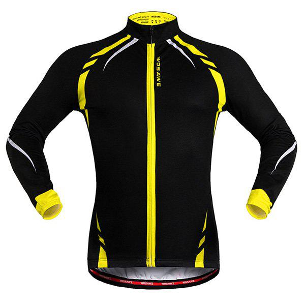Hot Sale Long Sleeve Warmth Thermal Fleece Cycling Jacket For Unisex