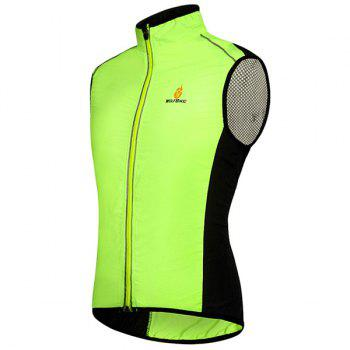 Chic Quality Breathable Windproof Cycling Waistcoat For Unisex - S S