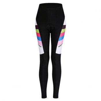 High Quality Breathable Long Sleeve Jersey + Pants Outdoor Cycling Suits For Women - COLORMIX XL