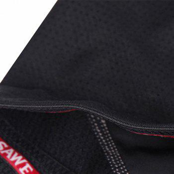 Hot Sale Multifunction Quick Dry Gel Padded Outdoor Cycling Shorts For Unisex - BLACK L