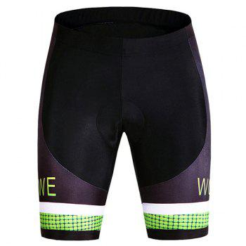 Hot Sale Quick Dry Gel Silicone Padded Cycling Shorts For Unisex - COLORMIX L