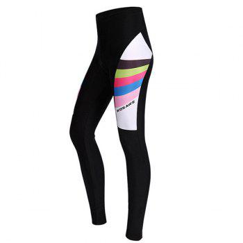 Fashionable Breathable Gel Padded Tight Cycling Pants For Women