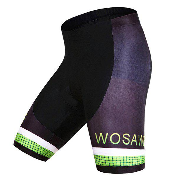 Hot Sale Quick Dry Gel Silicone Padded Cycling Shorts For Unisex
