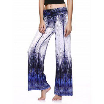 Casual Style Tie Dye Printed Loose-Fitting Pants For Women