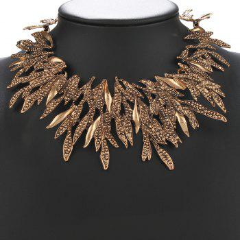 Leaf Alloy Necklace