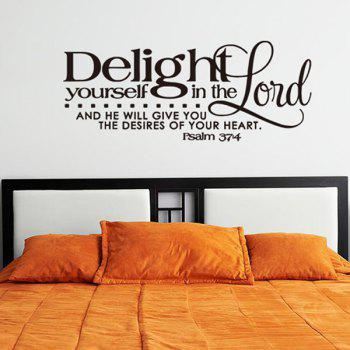 Home Decoration Bible Verse Design Wall Art Sticker