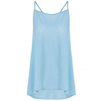 Fashionable Bowknot Decorated Chiffon Tank Top For Women - S S