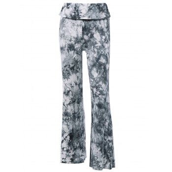 Fashionable Women's High Waist Tie Dye Loose-Fitting Pants