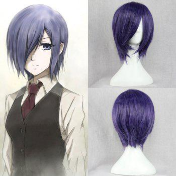 Vogue Synthetic Short Straight Side Bang Cosplay Wig