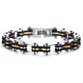 Bicycle Silicone Chain Bracelet